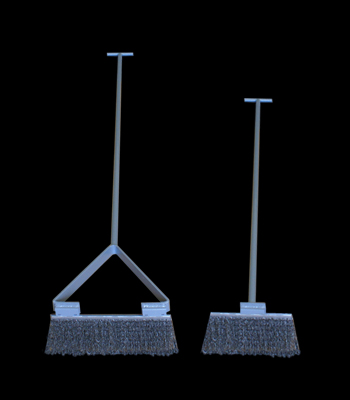 Crematory Clean Out Brushes